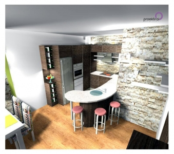 Проект кухня вариант 2