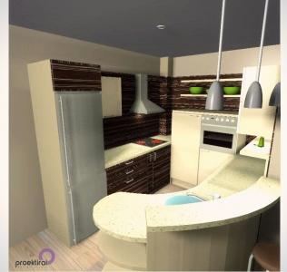 Проект кухня, вариант 3