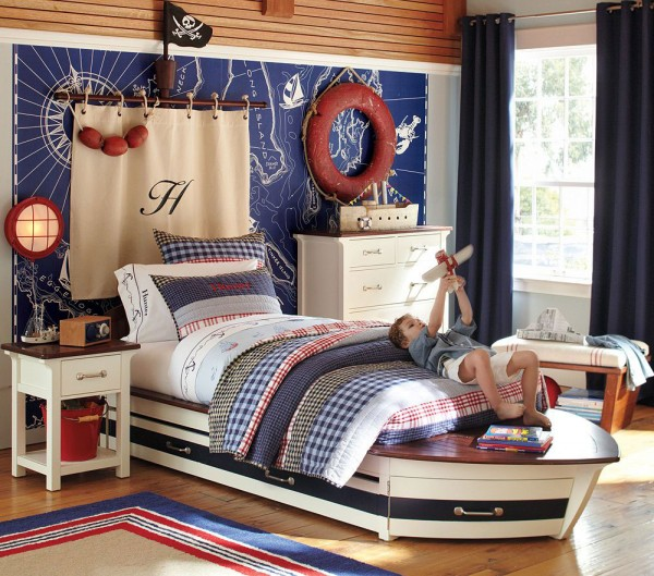 5-Pottery-Barn-Kids-Bedroom-Design-Speedboat-II-Collection-1940s-classic-luxury-crafts-theme-600x529