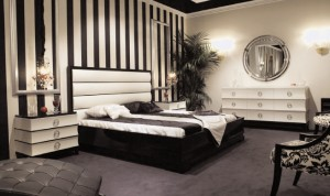 black-and-white-art-deco-bedroom