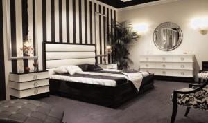 black-and-white-art-deco-bedroom