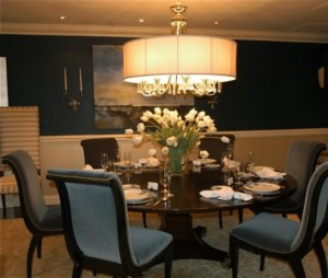 Formal-Dining-Room-Paint-Ideas-Chandelier-550x466